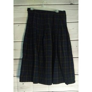 Vintage Pendleton authentic argyle tartan skirt 14